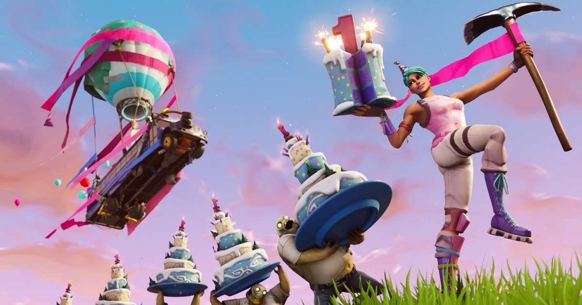Fortnite compleanno