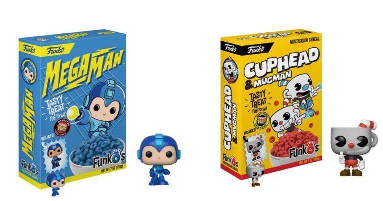 funko pop cereali