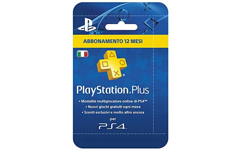 ps plus ps4 12 mesi amazon prime day 2018