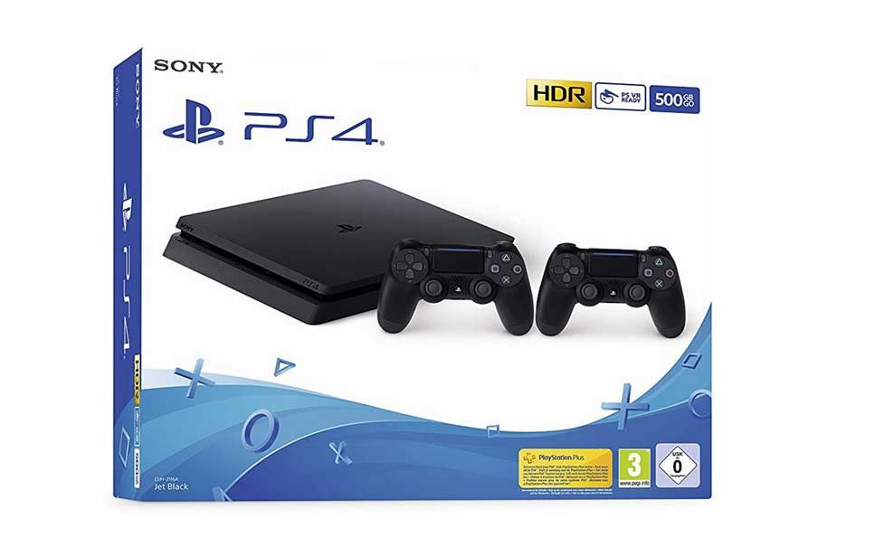ps4 slim 500 gb 2 joystick prime days
