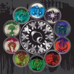 I dieci simboli, per dieci Gilde.