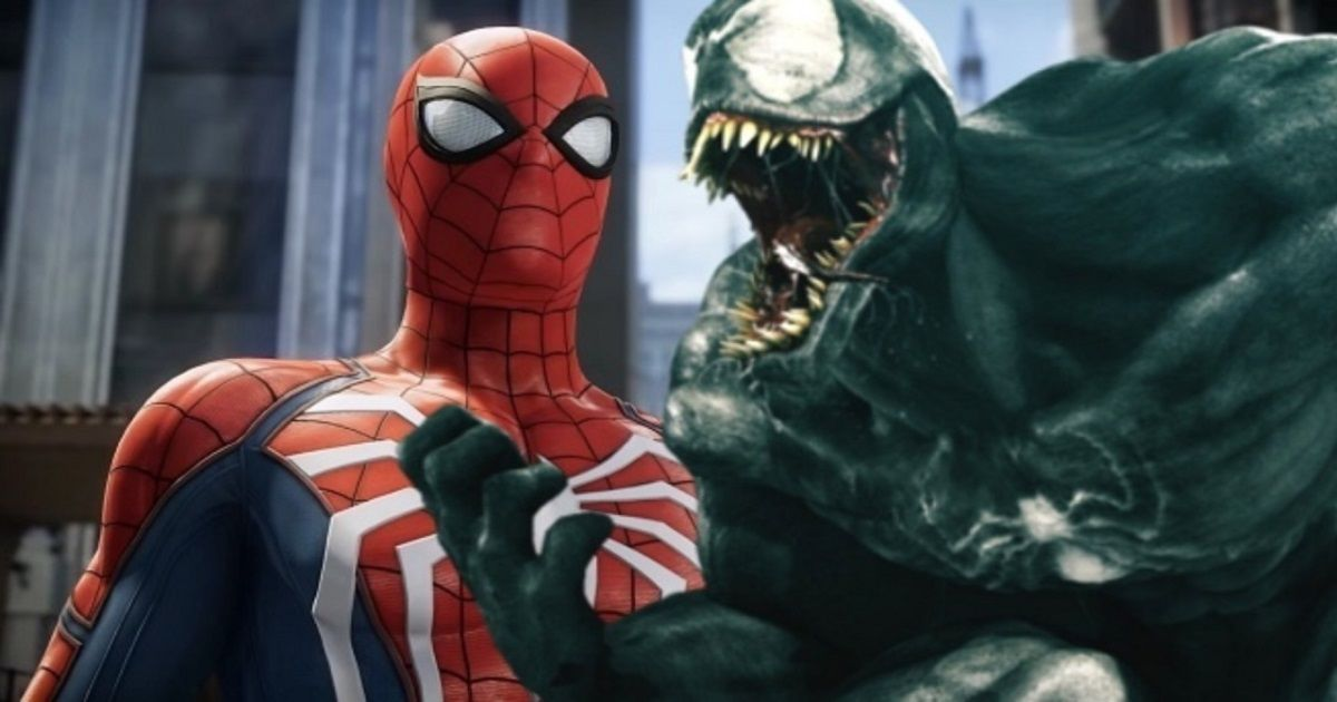 spider-man ps4 venom