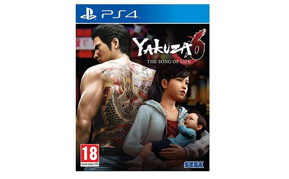 yakuza 6 prime day 2018 player