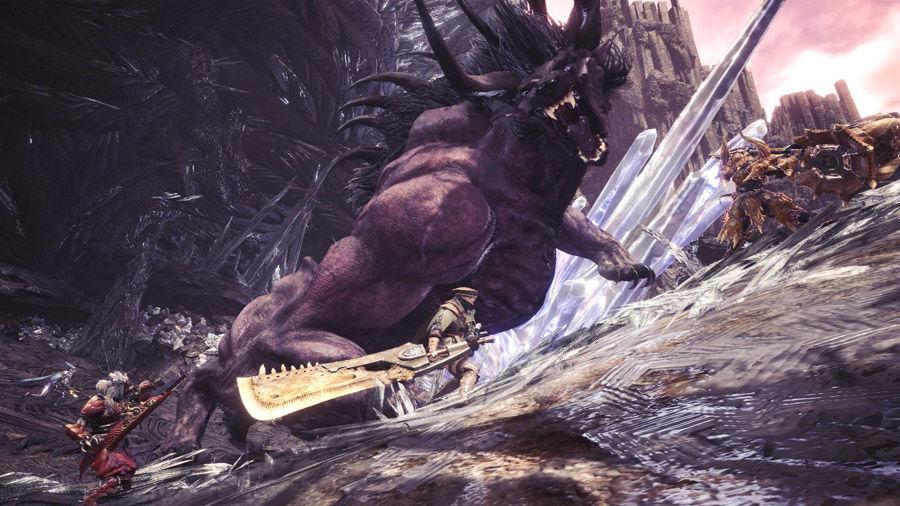 Guida - caccia - Behemoth - armatura - guida behemoth - caccia - MHW - Monster hunter world - FF - Final Fantasy XIV - collaborazione - collaboration
