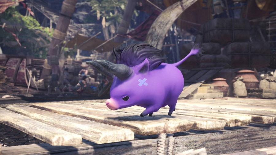 Sete- Felyne - Behemoth - armatura - compagno - guida - caccia - moogle - kupo - poogie - pijama - cute - MHW - Monster hunter world - FF - Final Fantasy XIV - collaborazione - collaboration