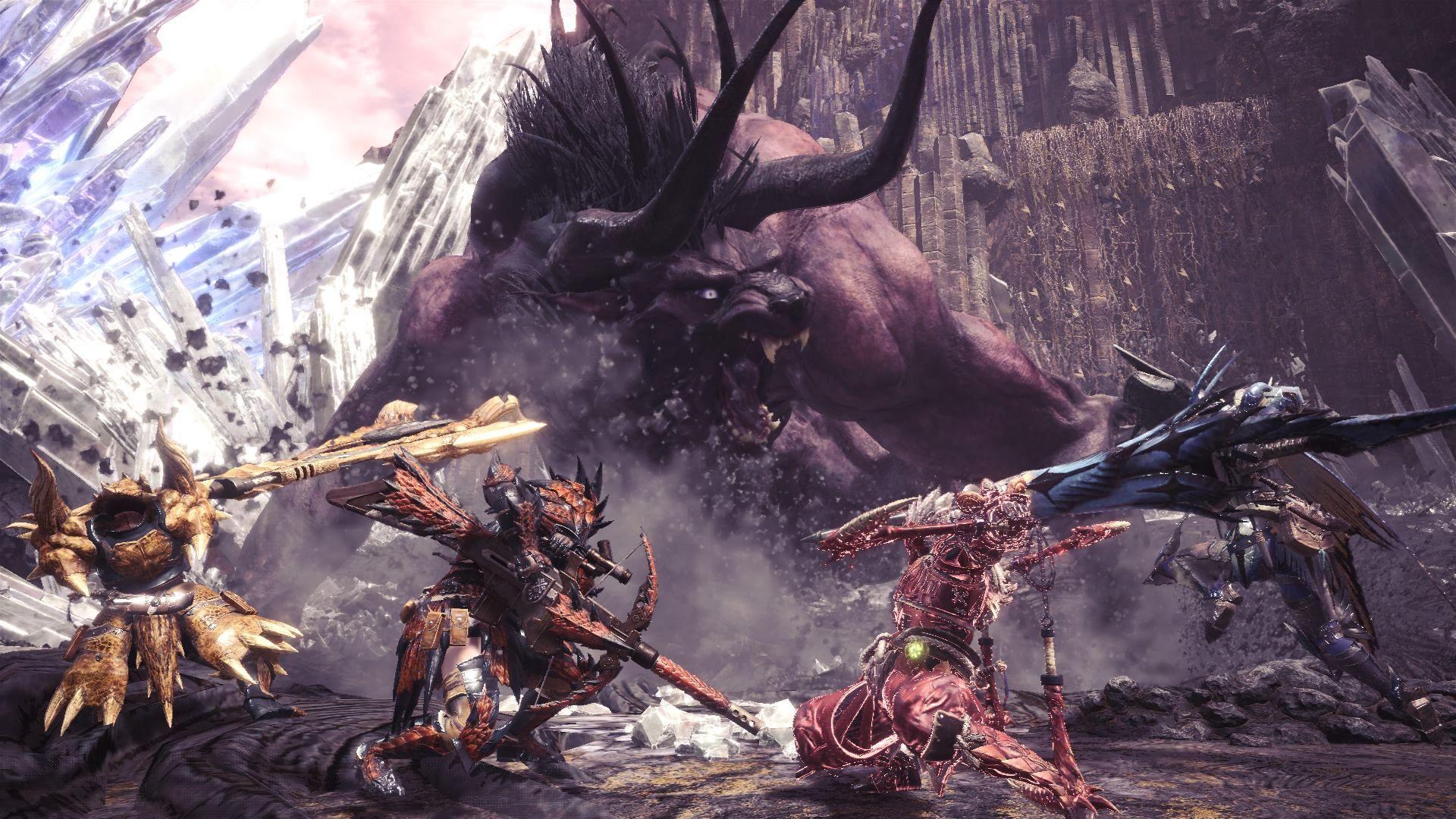 Guida - caccia - Behemoth - armatura - guida behemoth- caccia - MHW - Monster hunter world - FF - Final Fantasy XIV - collaborazione - collaboration