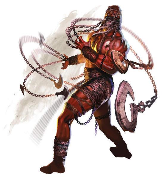 dungeon world rpg gdr pbta fiend devil demon abyss hell chain devil