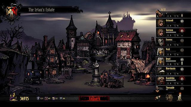 Darkest dungeon rpg gdr videogame gestione