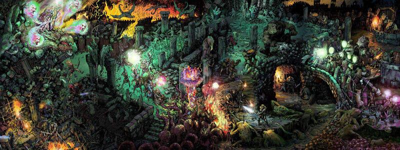 dungeon world gdr rpg gioco di ruolo fantasy crawling pbta sage latorra adam koebel