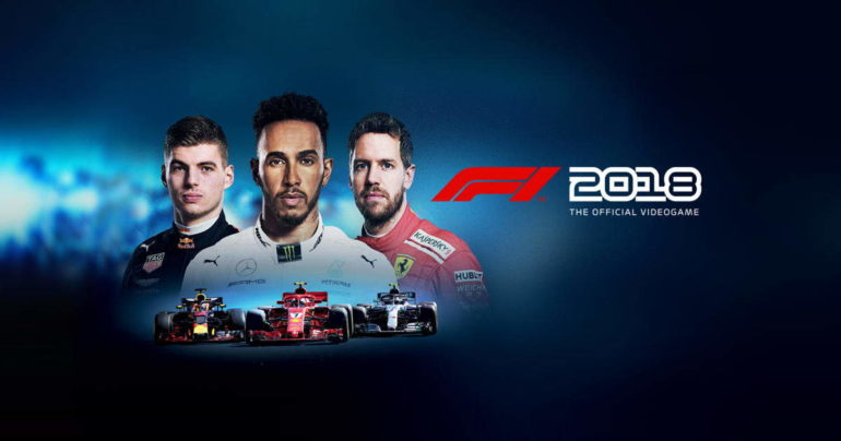F1 2018 copertina