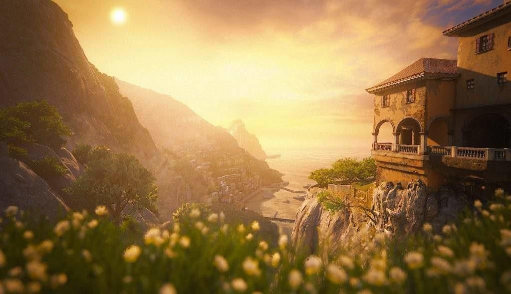 Italy&Videogames - Uncharted 4 - Costiera Amalfitana