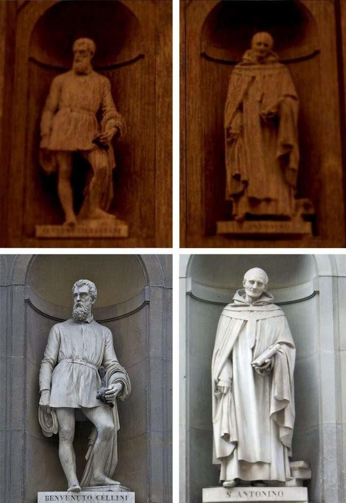 Italy&Videogames. O mia bela Madunina che te brilli su Dark Soulss - Statue Uffizi