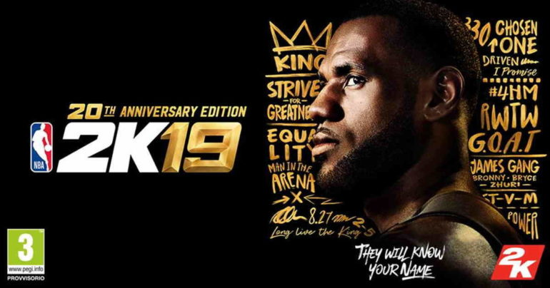 NBA 2K19 copertina