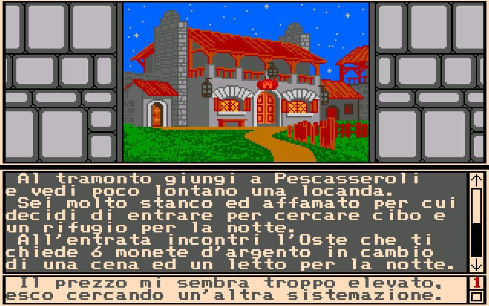 Italy&Videogames. Esplorando l'Abruzzo fantasy di Profezia - Pescasseroli, Abruzzo