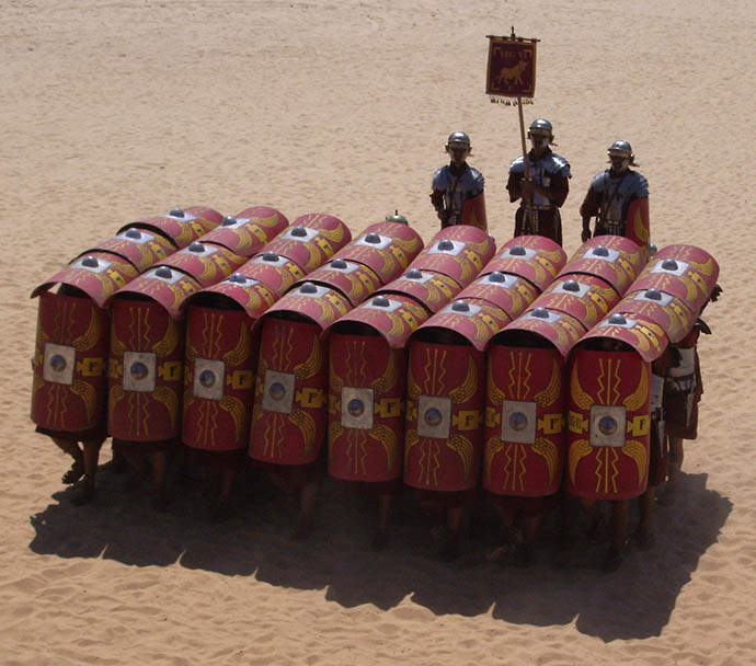 combattimento pbta testudo testuggine formazione falange fight turni iniziativa
