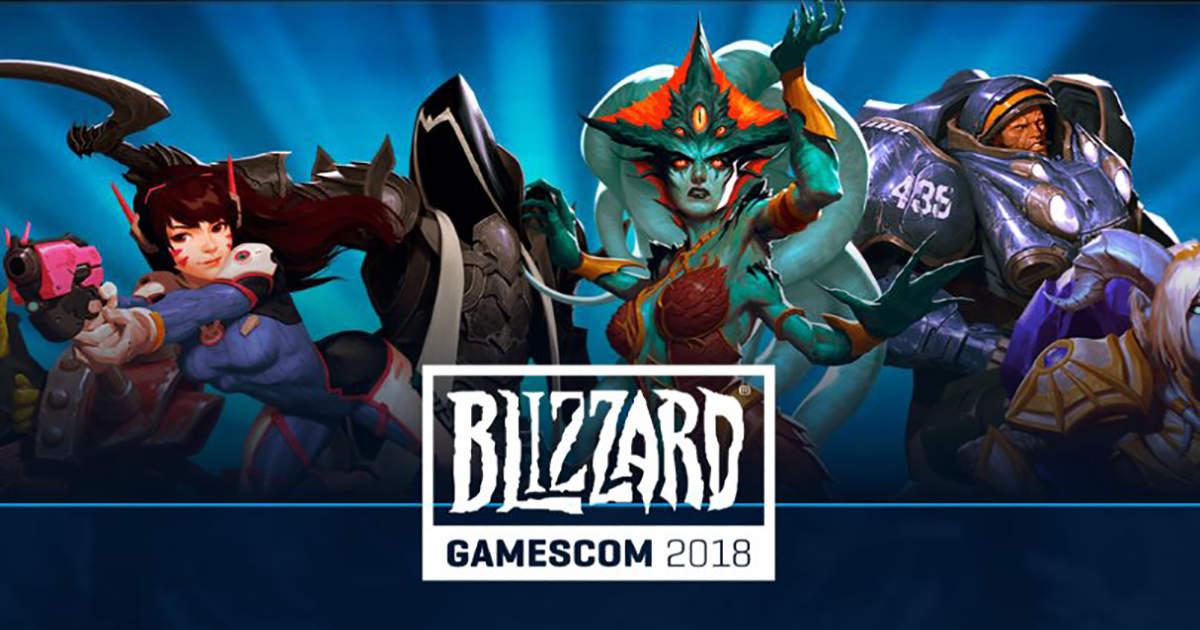 [Gamescom 2018] recap completo dei panel Blizzard