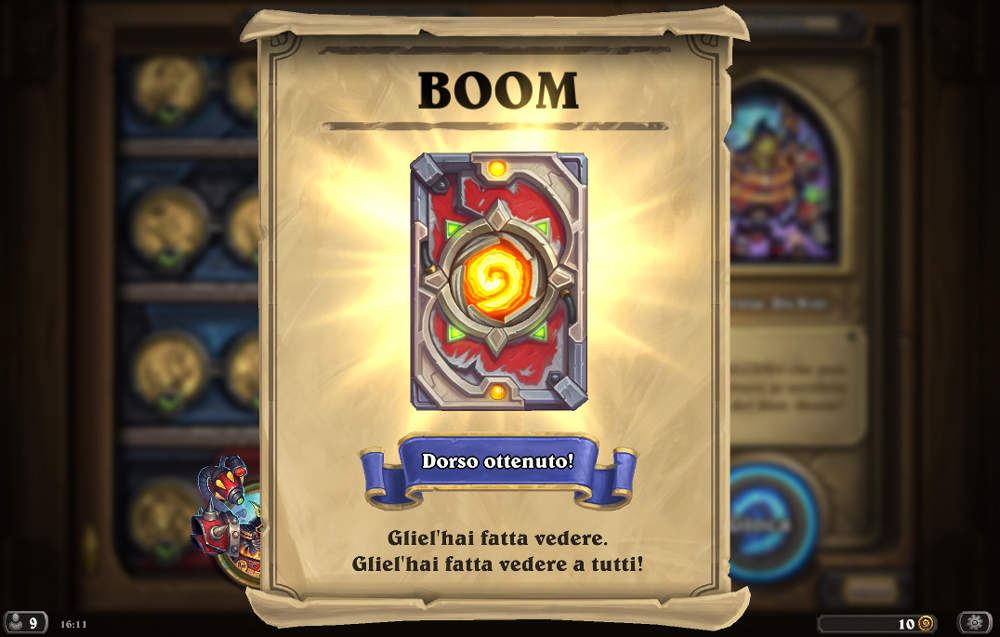 Hearthstone boomsday