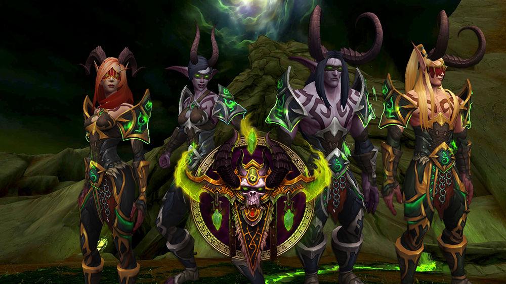cacciatore di demoni wow