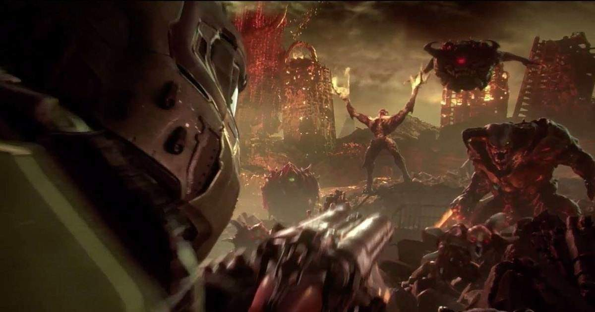 presentazione doom eternal quakecon 2018