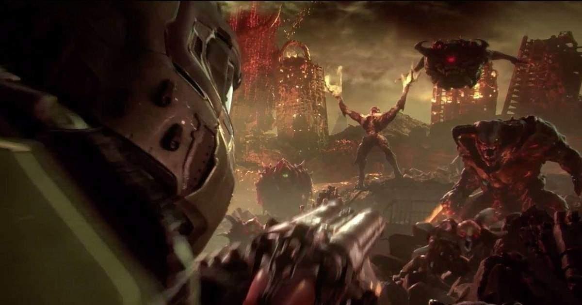 presentazione doom eternal quakecon 2018