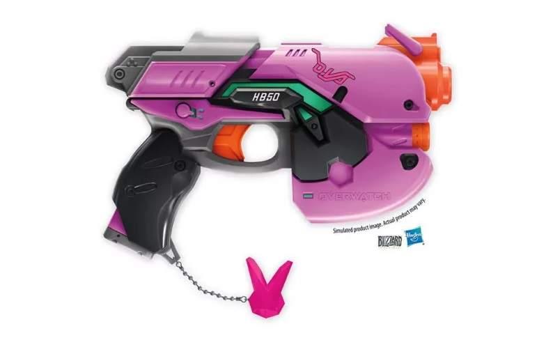 dva overwatch nerf pistola