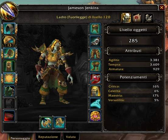 jameson wow bfa gear