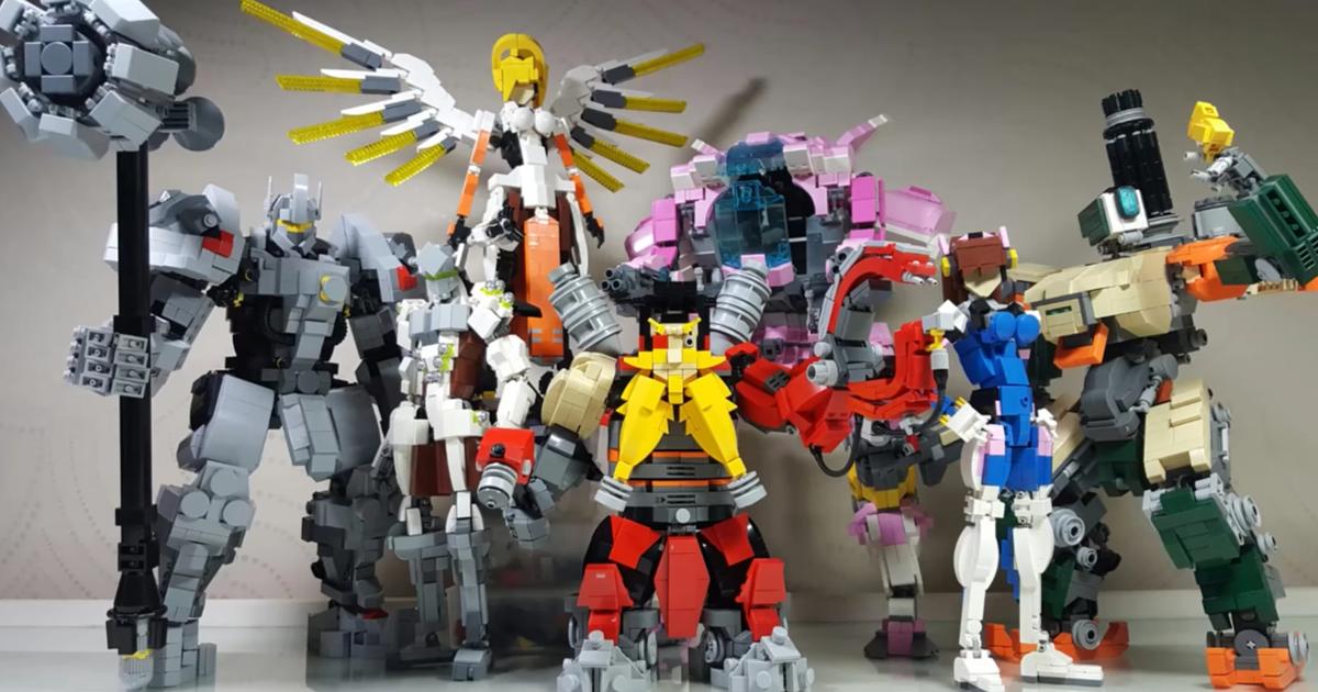 E' online il sito web di Lego Overwatch