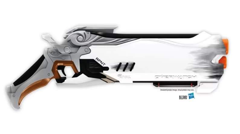 pistola nerf reaper overwatch