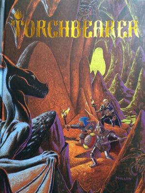 Torchbearer copertina gdr rpg D&D