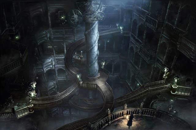 Bloodborne Astral Clocktower