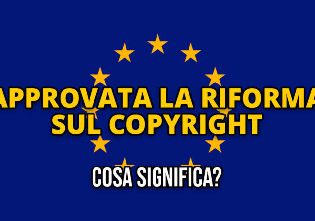 Copyright unione europea
