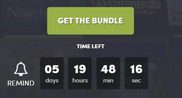 Countdown Humble Bundle