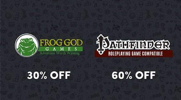 Sconto Frog God Games