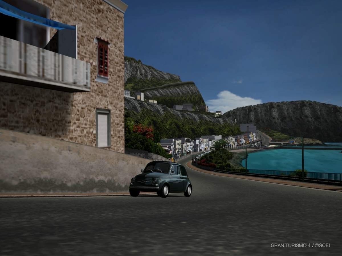 Gran Turismo 4 - Lungomare, Amalfi