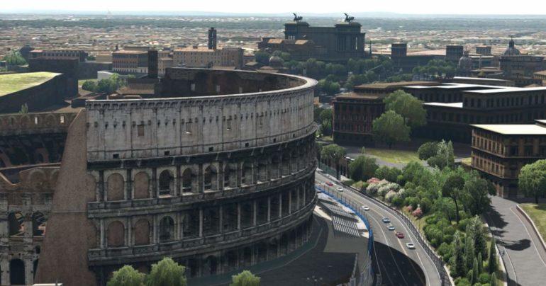 Gran Turismo 5 - Colosseo, Roma