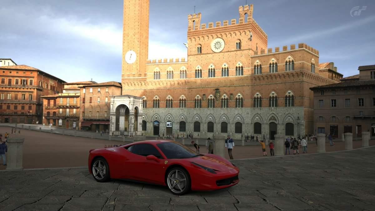 Gran Turismo 5 - Piazza del Campo, Siena