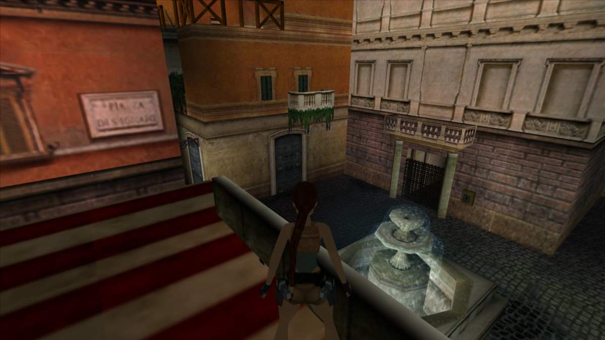 Italy&Videogames - Tomb Raider, Lara Croft Roma