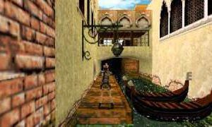 Italy&Videogames - Tomb Raider, Lara Croft Venezia Gondola