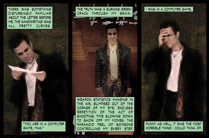 Max Payne quarta parete