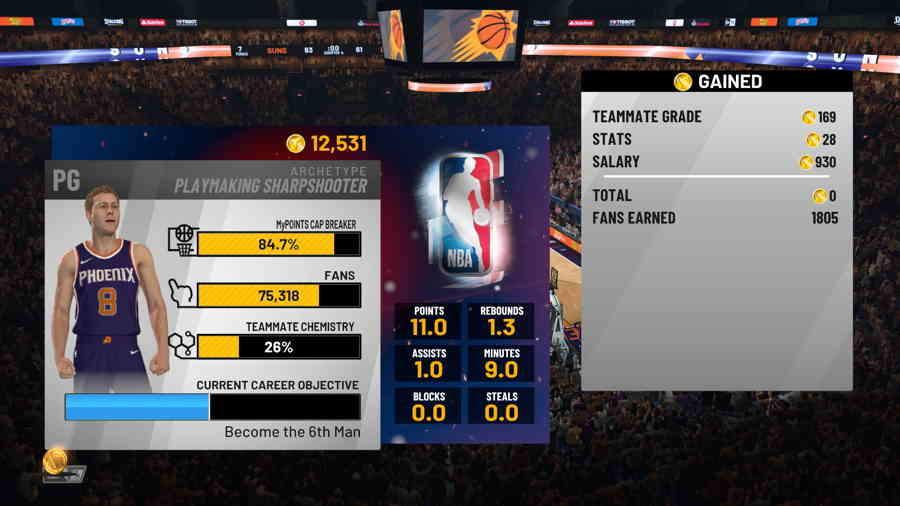 NBA 2K19 3