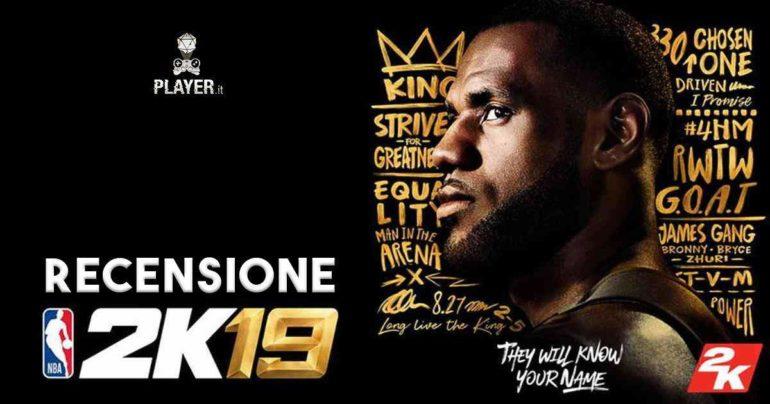 NBA 2K19 copertina 1