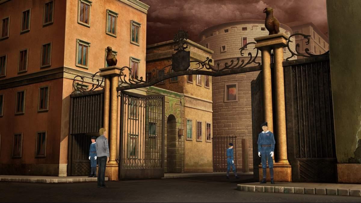 Shadow of the Vatican - Porta Sant'Anna