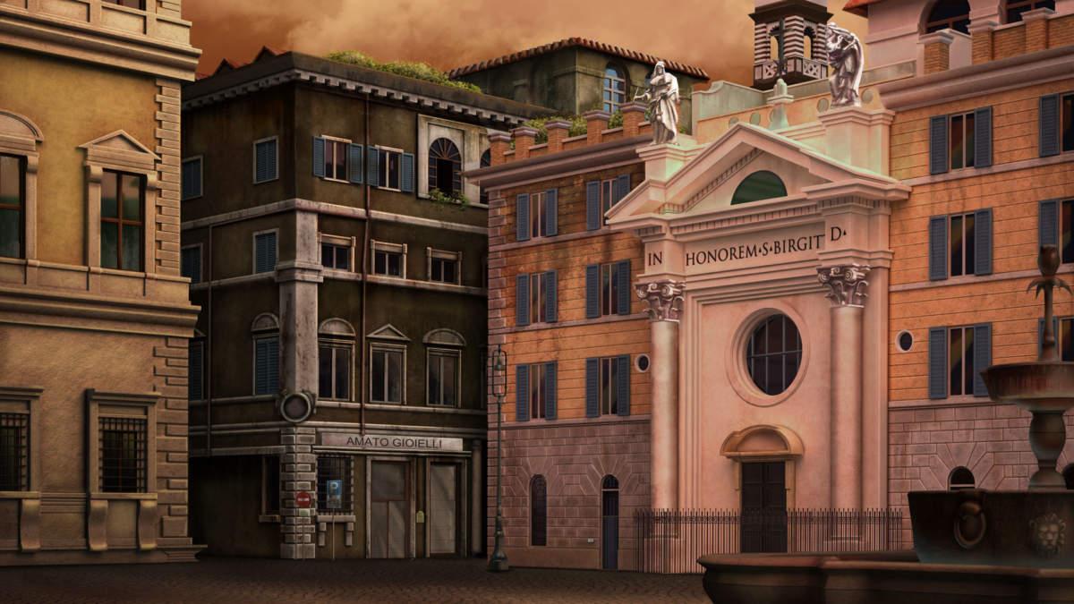 Shadow of the Vatican - chiesa di Santa Brigida