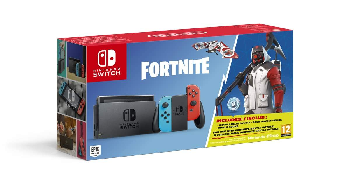 nintendo switch bundle fortnite