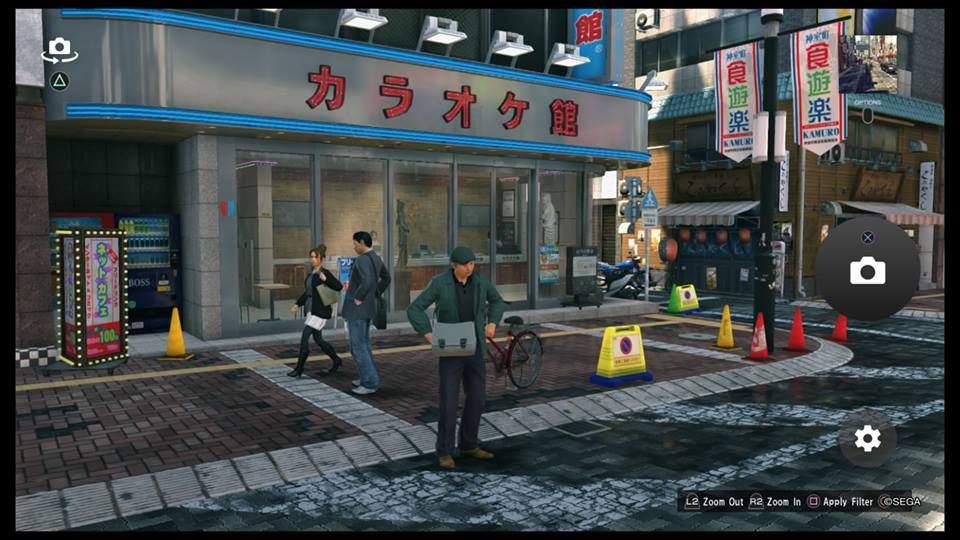yakuza kiwami 2 photo mode guida