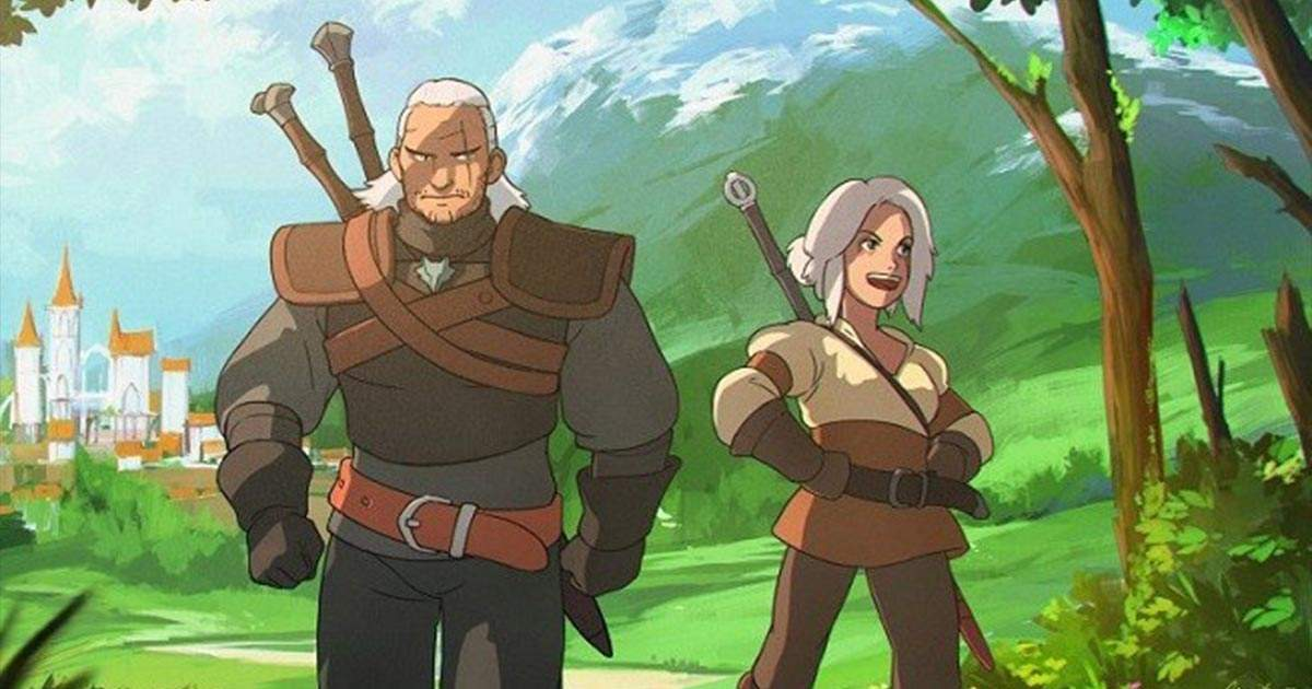 the witcher anime ghibli