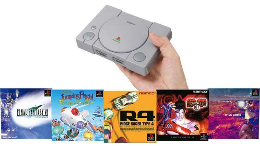 Sony annuncia PlayStation Classic, la console mini
