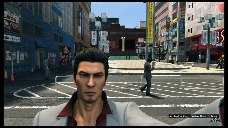 guida fare selfie yakuza kiwami 2