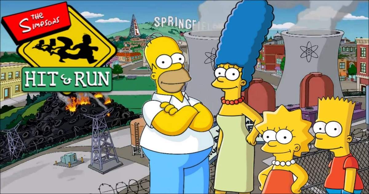 the simpsons: hit & run, retrogaming