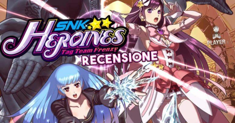 snk heroines tag team frenzy recensione